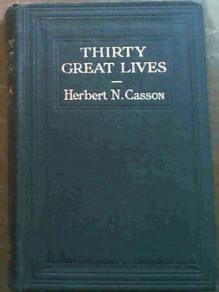 Image for Thirty Great Lives
