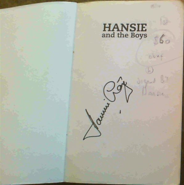 Image for Hansie and the Boys: The Making of the South African Cricket Team