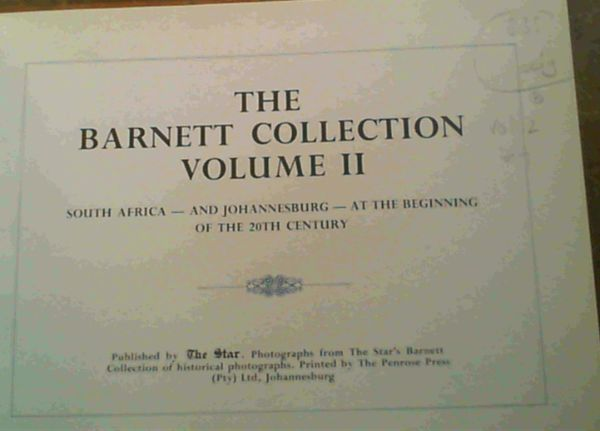 Image for The Barnett Collection Volume II
