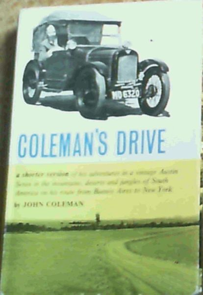 Image for Coleman's Drive