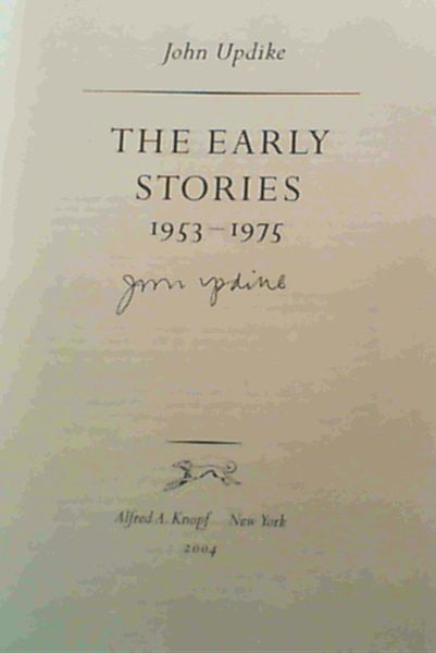Image for The Early Stories: 1953-1975
