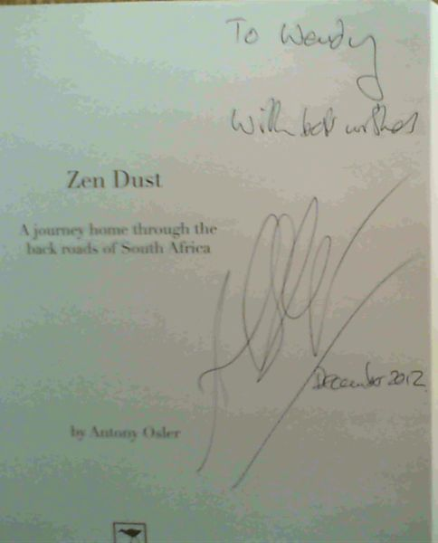 Image for Zen Dust: A Journey Home Through the Back Roads of South Africa