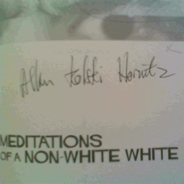 Image for Meditations of a Non-White White