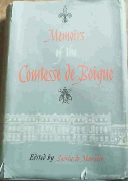 Image for Memoirs of the Comtesse De Boigne