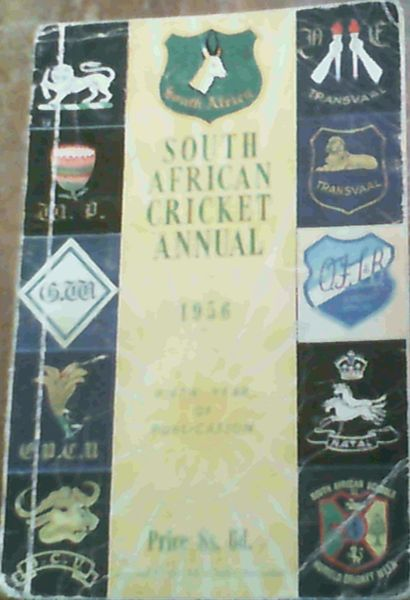 Image for South African Cricket Annual 1956 (Volume 5)
