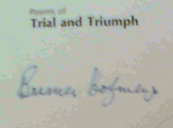 Image for Poems of Trial and Triumph