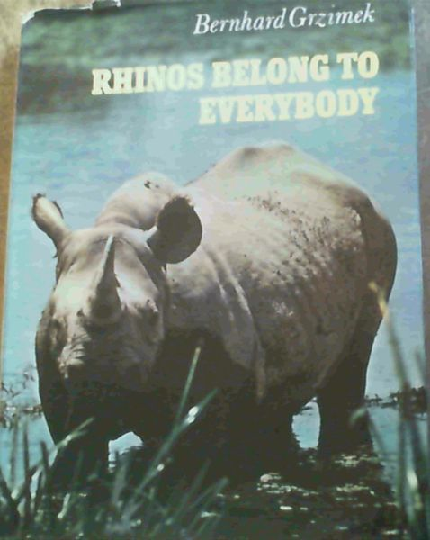 Image for Rhinos Belong to Everybody