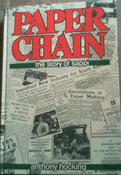 Image for Paper Chain : The Story of Sappi