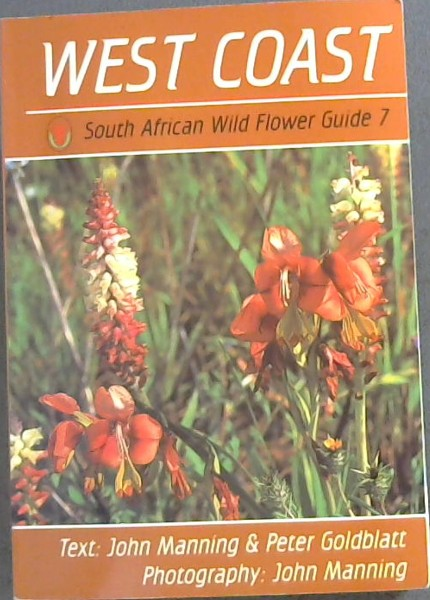 Image for West Coast : South African Wild Flower Guide No. 7