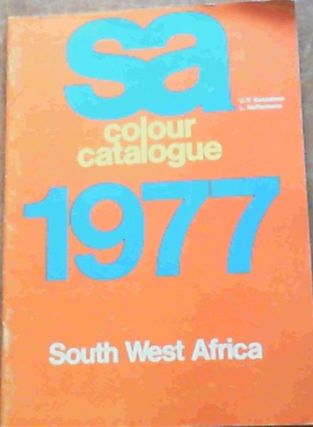 Image for SA Colour Catalogue 1977 South West Africa