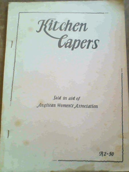 Image for Kitchen Capers