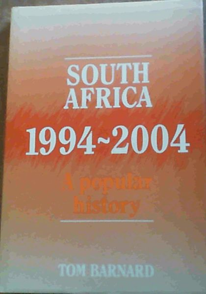 Image for South Africa, 1994-2004: A popular history