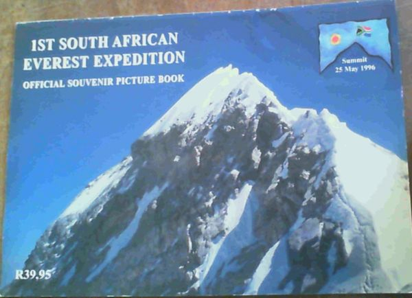 Image for 1st South African Everest Expedition : Souvenir Picture Book
