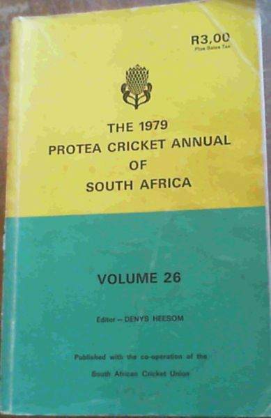 Image for Protea Cricket annual of South Africa 1979
