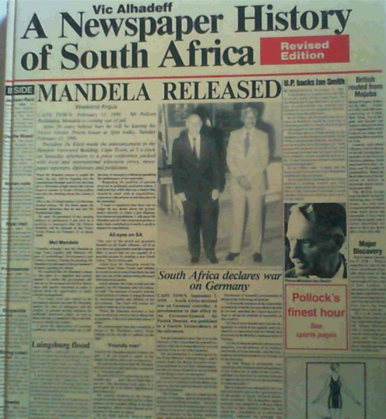 Image for A Newspaper History of South Africa