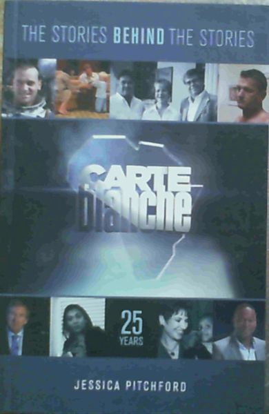 Image for Carte Blanche: The Stories Behind the Stories