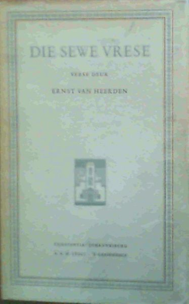 Image for Die Sewe Vrese