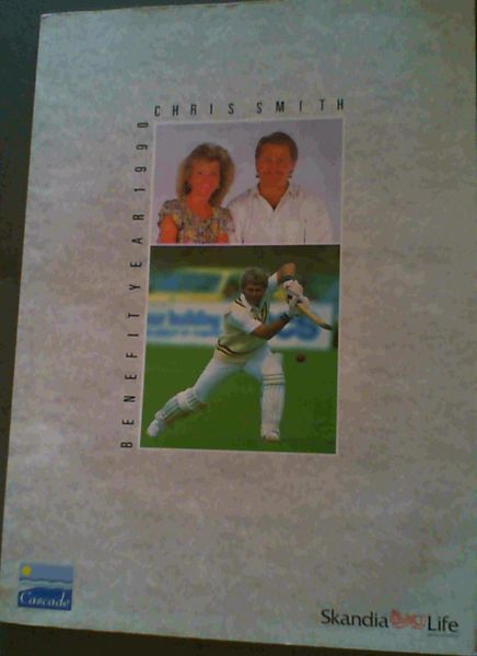 Image for Chris Smith Benefit Year 1990