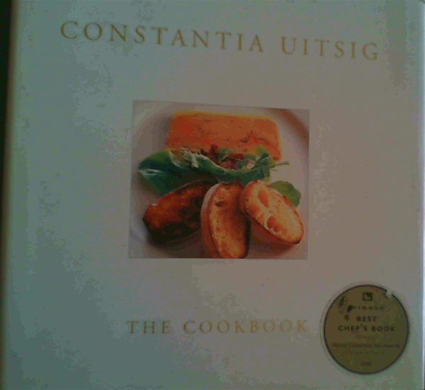 Image for Constantia Uitsig ; The Cookbook