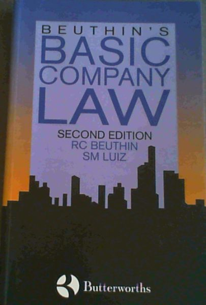 Image for Beuthin's Basic Company Law
