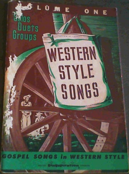 Image for Western Style Songs Volume 1; Gospel songs in Western style
