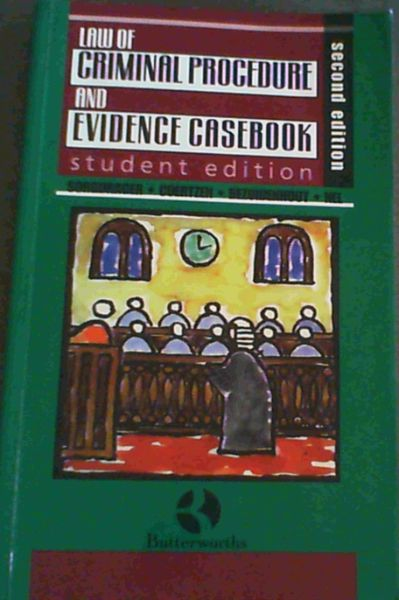 Image for Law of Criminal Procedure and Evidence Casebook