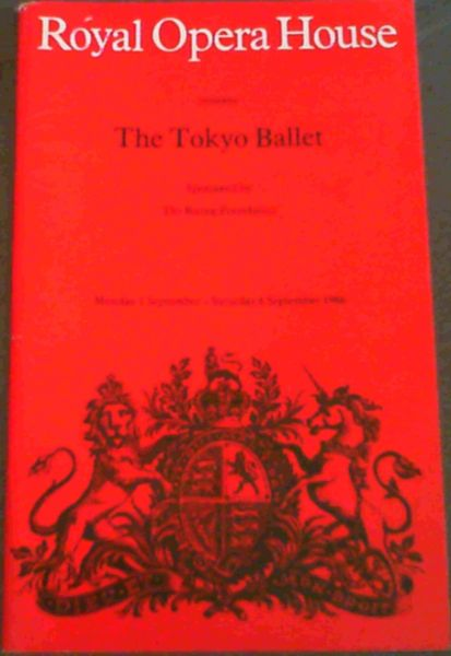 Image for Programme: Royal Opera House presents The Tokyo Ballet - Monday 1 September - Saturday 6 September 1986