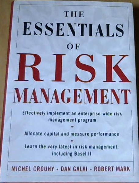 Image for The Essentials of Risk Management