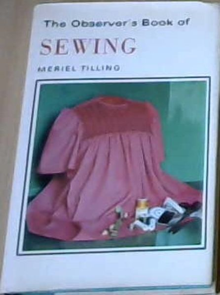 Image for The Observer's Book of Sewing (Observer's Pocket)