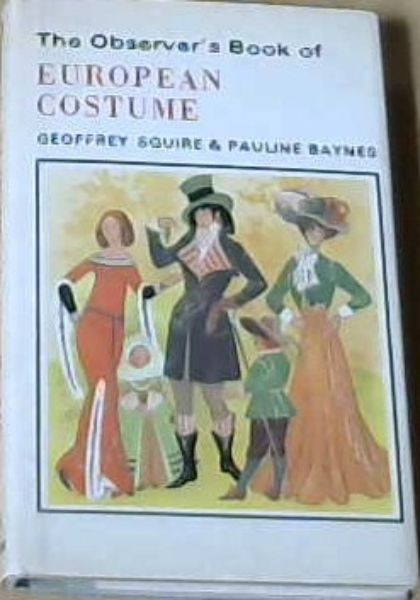 Image for The Observer's Book of European Costume (Observer's Pocket)