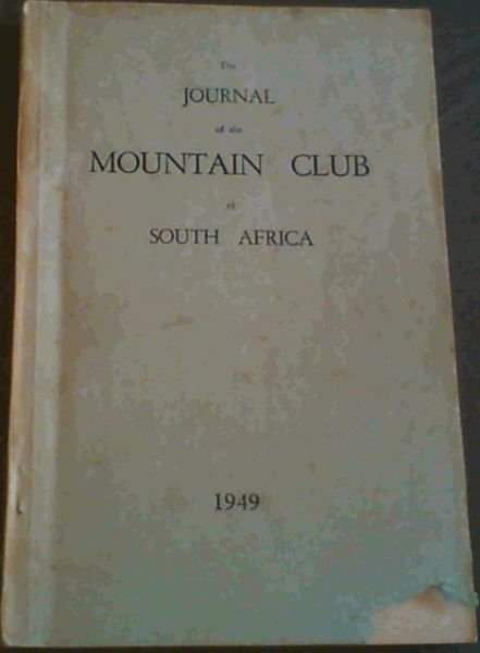 Image for The Journal of the Mountain Club of South Africa 1949