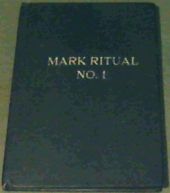 Image for Mark Ritual No. 1