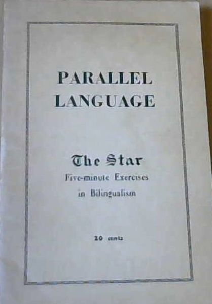Image for Parallel Language