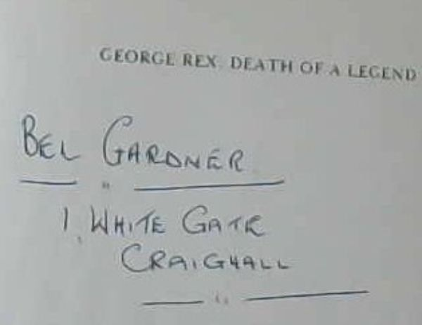 Image for George Rex: Death of a Legend