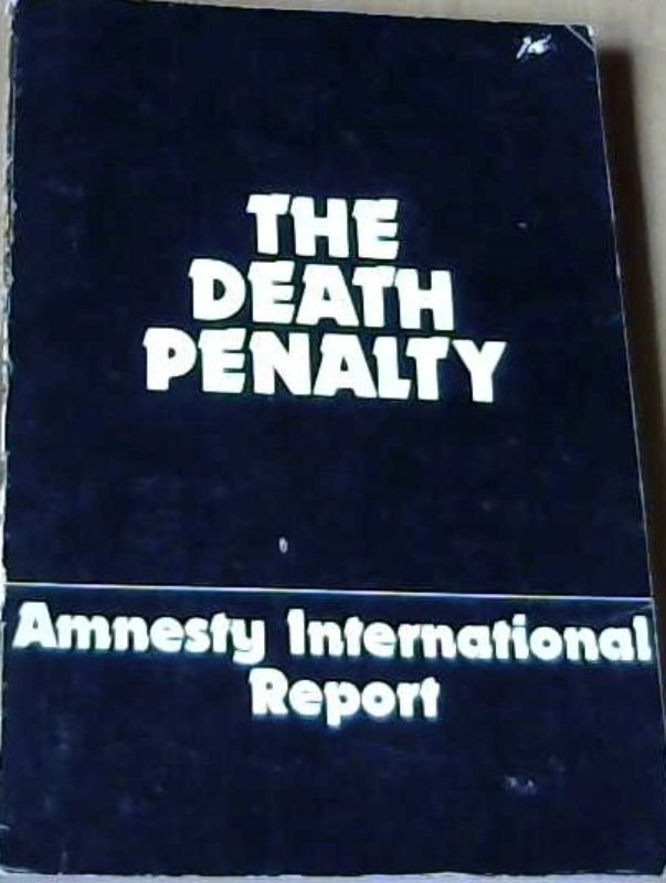 Image for The Death Penalty:  Amnesty International Report