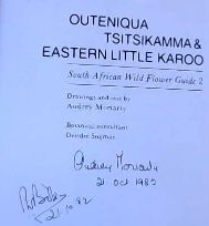 Image for Outeniqua Tsitsikamma & Eastern Little Karoo: South African Wild Flower Guide 2