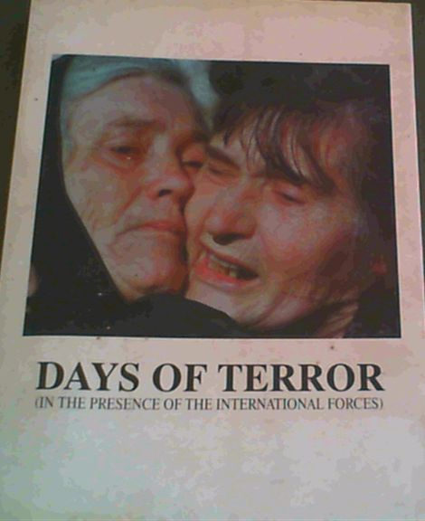 Image for Days of the Terror (In the Presence of the International Forces)