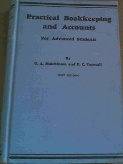 Image for Practical  Bookkeeping  &  Accounts  For  Advanced  Students