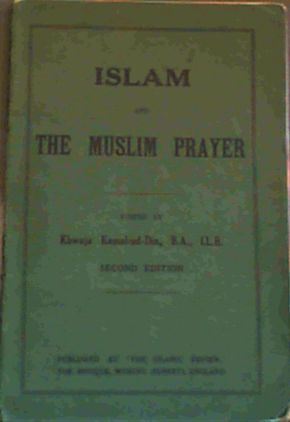 Image for Islam and the Muslim Prayer