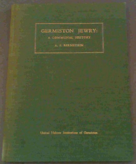 Image for Germiston Jewry : a Communal History
