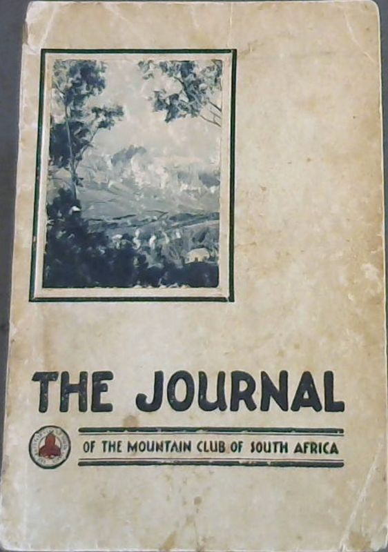 Image for The Journal of the Mountain Club of South Africa 1935