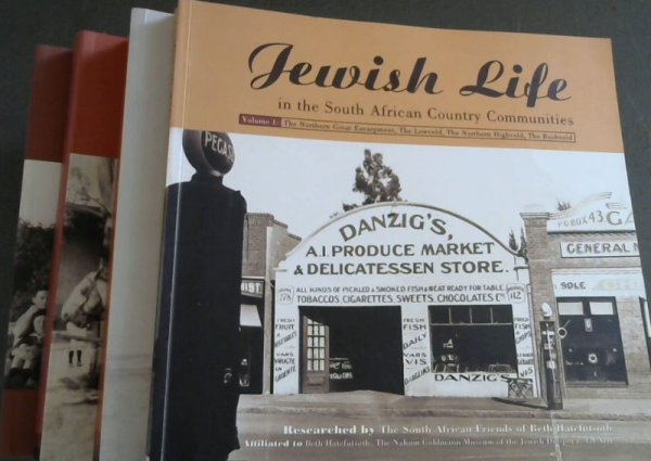 Image for Jewish Life in the South African Country Communities (4 volume set)