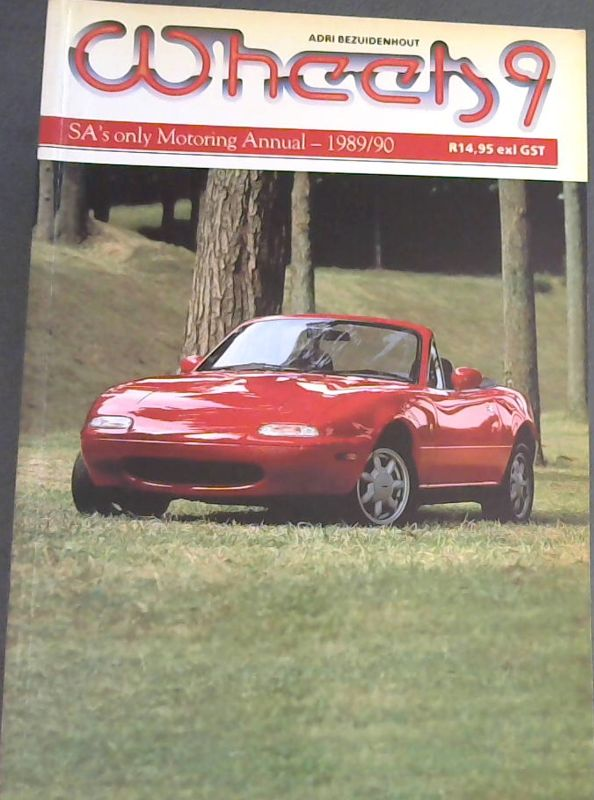 Image for Wheels 9: SA's only Motoring Annual - 1989/90