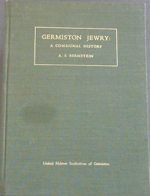 Image for Germiston Jewry: A Communal History