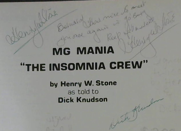"Image for MG Mania : ""The Insomnia Crew"""