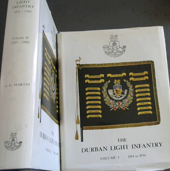 Image for The Durban Light Infantry - Volume I and II