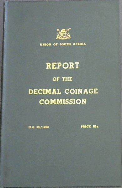 Image for Report of the Decimal Coinage Commission