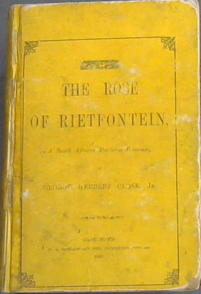 Image for The Rose of Rietfontein