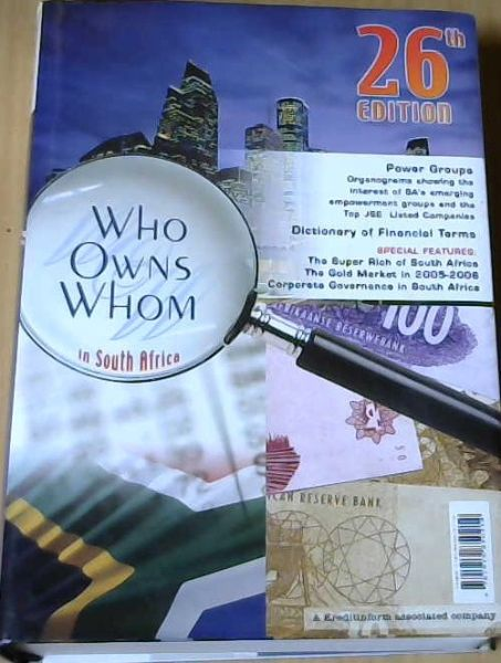 Image for Who Owns Whom 2006