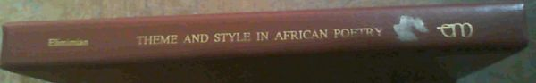 Image for Theme and Style in African Poetry